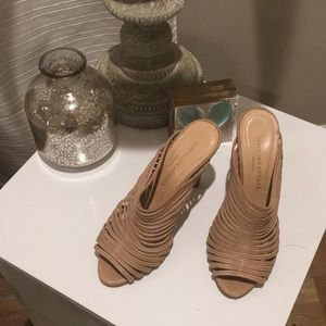 Loeffler Randal Strappy Nude Sandals